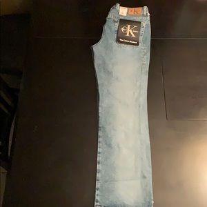 NWT Calvin Klein Jeans (Bootcut)